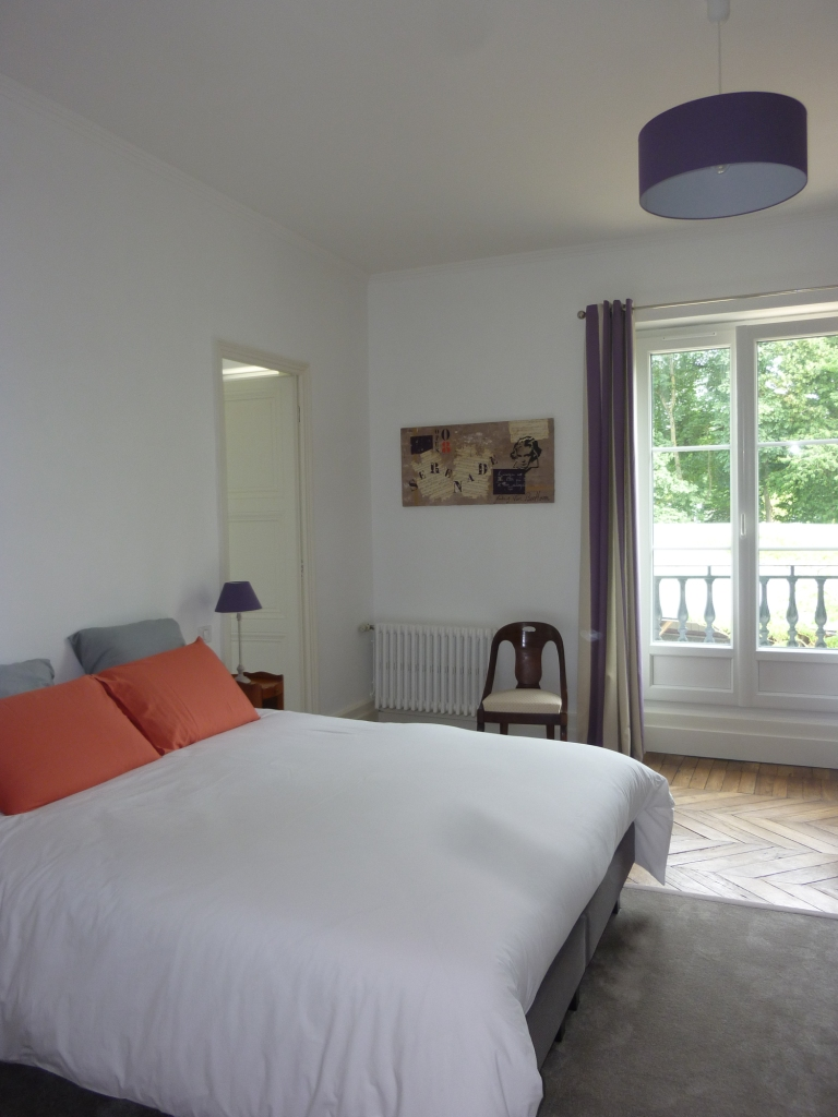 Bed & Breakfast in Touraine - Cedar and Charm - chambre serenade