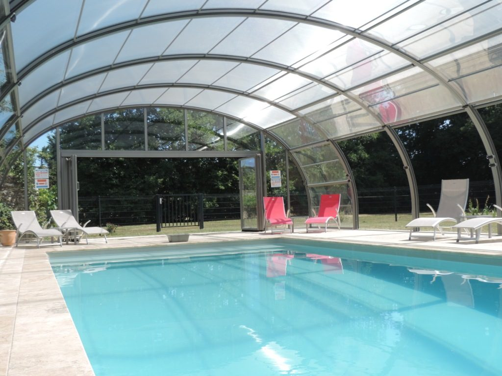 Heated indoor pool from April to November