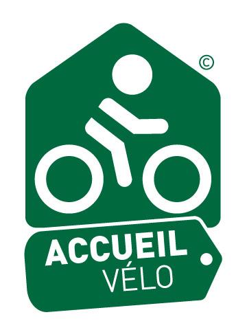 Huis logo fietsen